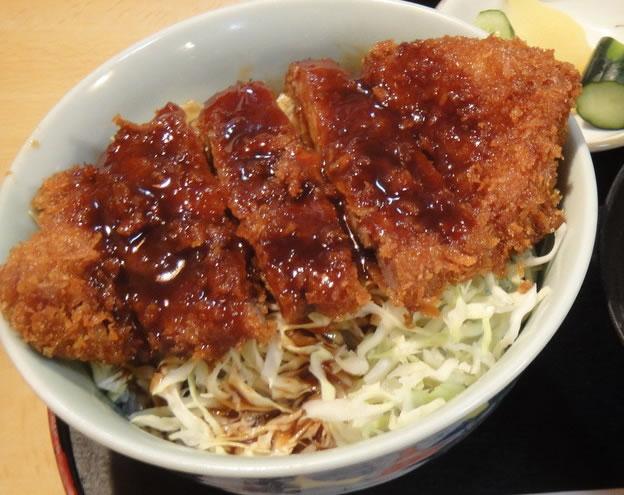 会津のソースカツ丼